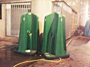 Sanitários públicos em Amsterdã